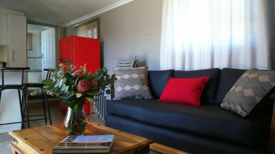 Lounge decor of self-catering cottage