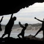 Family fun in Klipgat Cave De Kelders Gansbaai