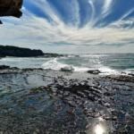 Spectacular coastline of South Africa